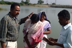 Baptism  Service  In  India