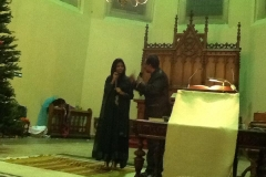 Christmas Celebration In  Pakistani  Church In  Antwerp