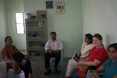 Guests From Chicago  Visiting Our  Hospice In  India
